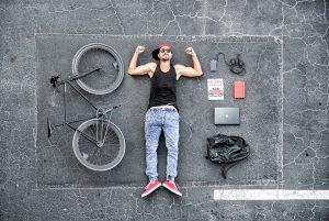 prezent rowerowy dla mężczyzny